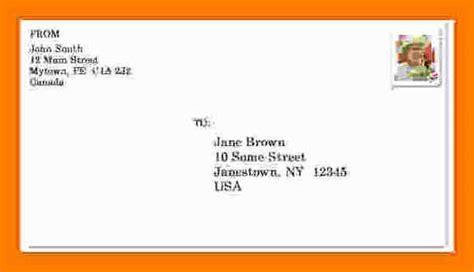 Envelope Address Template Envelope Address Template Projet52