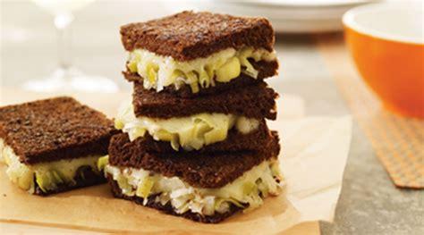 Tre Stelle Recipe Sandwichs Au - tre stelle recipe sandwich au fromage fondant et son confit de poireau