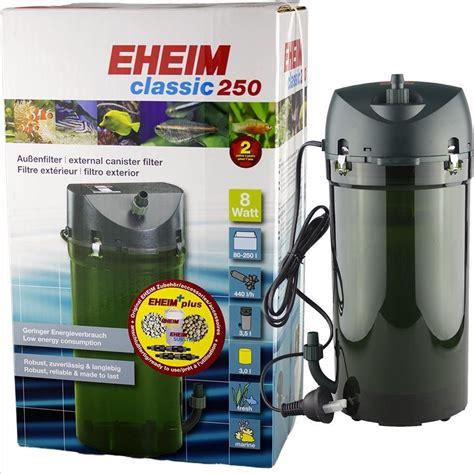 pompe aquarium eheim 2213 eheim external canister aquarium filter classic 250 model 2213 20 66 gallons ebay