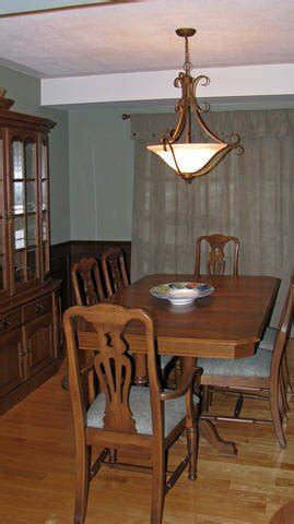 roxton oak dining room table 6 chairs and buffet for sale