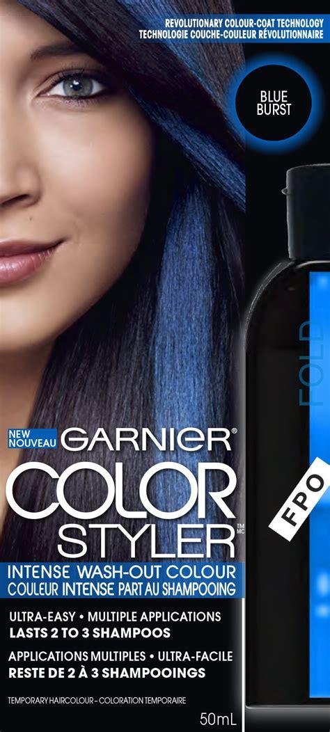 garnier wash out hair color garnier hair color color styler wash