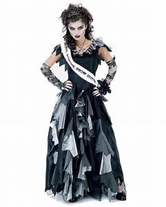 Gruselige Halloween Kostüme : zombie prom queen kost m gr m zombie kost me f r damen horror halloween ~ Frokenaadalensverden.com Haus und Dekorationen