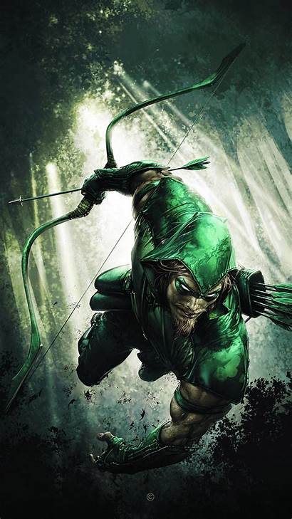 Arrow Wallpapers Comic Dark Forest Mobile