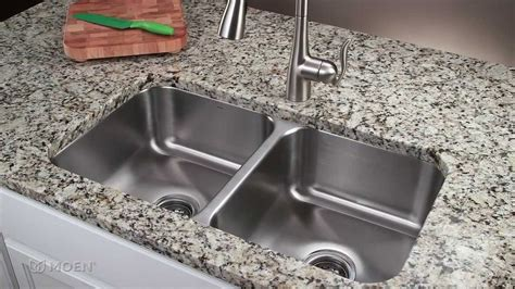 moen kitchen faucets how to install a stainless steel undermount kitchen sink