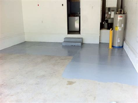 garage floor paint application how to apply garage floor epoxy like a pro
