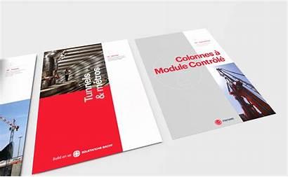 Soletanche Charter Behance Bachy Graphic Plaquettes Plaquette