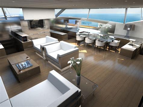 Catamaran Interior by The Gallery For Gt Luxury Catamaran Interior