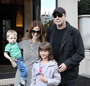 John Travolta makes rare appearance with wife Kelly ...