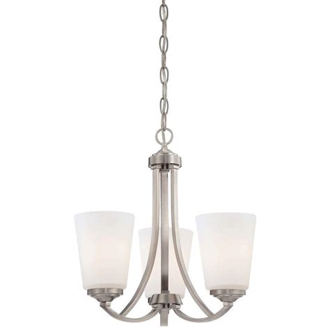 minka lavery mini chandeliers minka lavery overland park 3 light brushed nickel mini