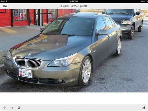 automobile air conditioning service 2005 bmw 545 electronic throttle control buy used 2005 bmw 545i base sedan 4 door 4 4l in fords new jersey united states
