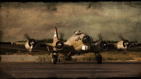 Boeing B17 Flying Fortress Full Hd Wallpaper And