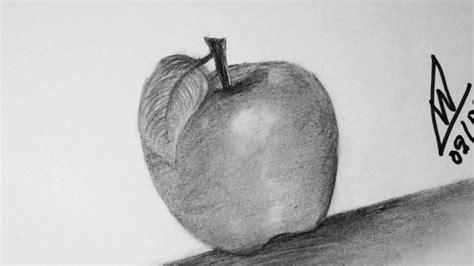 Aprende como dibujar una manzana con lapices/Paso a paso
