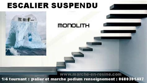 escalier beton suspendu de chez monolith escalier suspendu suspended staircase