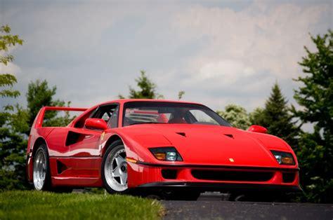 ferrari f40 ferrari f40 named the most iconic supercar ever