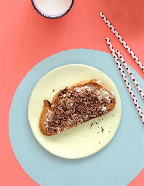 beurre cuisine tartine beurre chocolat pour 1 personne recettes à