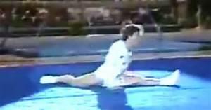 Amazing Gymnast Paul Hunt Puts On The Funniest Gymnastic ...