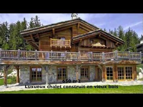 chalet de luxe a vendre magnifique grand chalet de luxe 224 vendre la grange de crehavouettaz crans montana valais