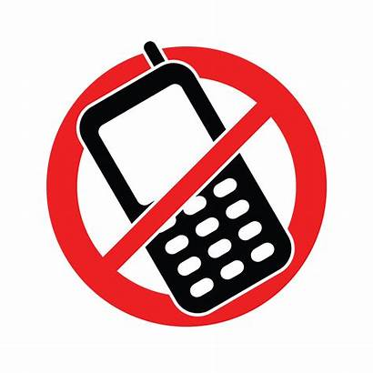 Phone Cell Silence Clipart Symbol Mobile Phones