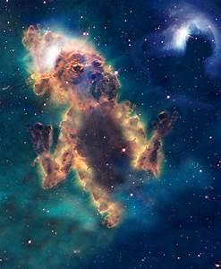 Monstros espaciais: artista usa imagens da Nasa para suas ...
