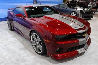 Camaro Chevrolet Stripes Chevy Flash Custom Camaros