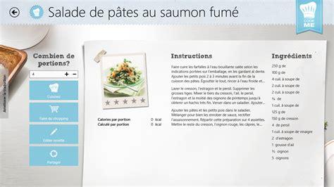 application de recette de cuisine applis de cuisine les agrégateurs de recettes pour tablettes