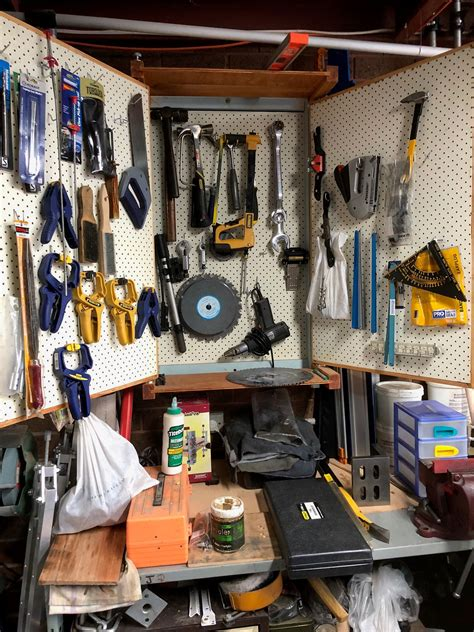 Storage Pegboard by Expanded Pegboard Storage System Workshop
