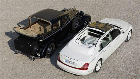 Maybach Landaulet Semi Convertible
