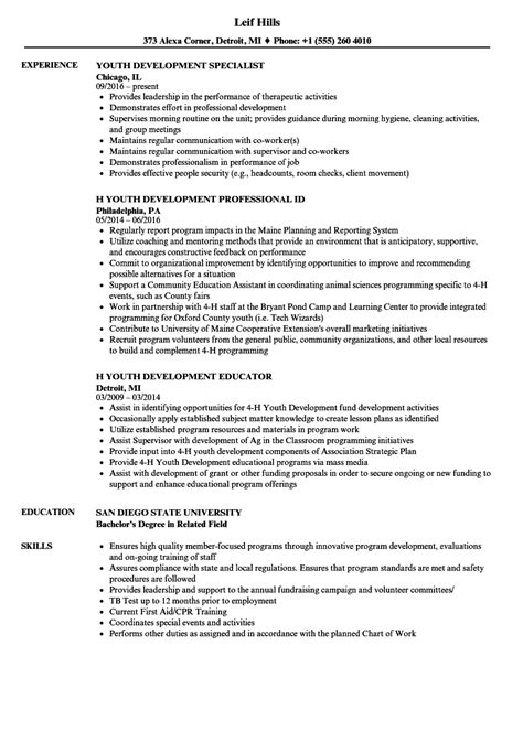 youth advisor sle resume que es una cover letter write