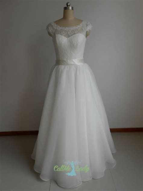 ivory sweetheart high neck long   wedding dresses