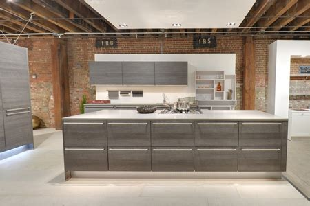 modern kitchens showroom red hook brooklyn