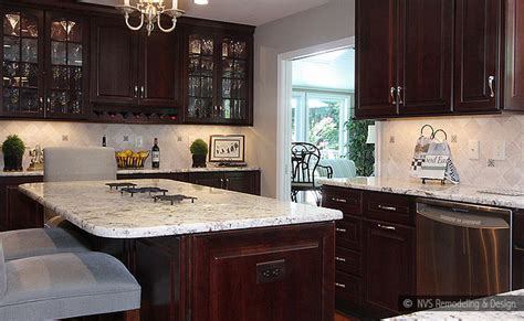 brown kitchen cabinets backsplash idea backsplashcom