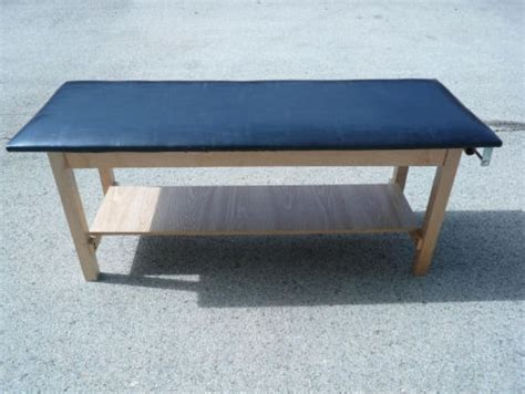 used exam tables for sale used clinton wood h brace black exam table for sale