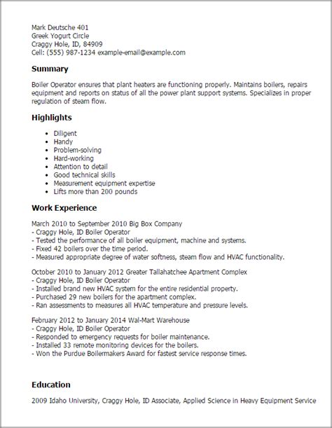 fitter machinist cover letter professional boiler operator templates to showcase your