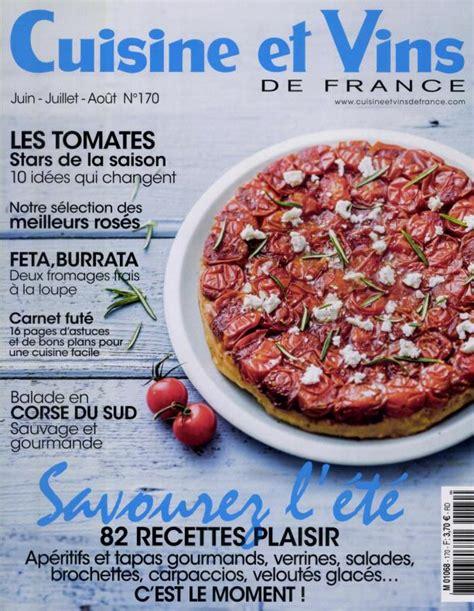 cuisine et vins de abonnement abonnement cuisine et vins de intermagazines