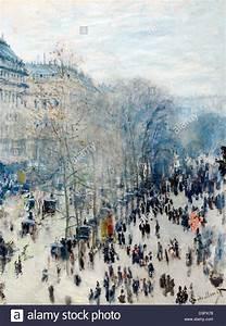 Claude Monet, Boulevard des Capucines 1873 – 1874 Oil on ...