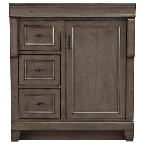 Distressed Bathroom Cabinets by Home Decorators Collection Naples 30 In W Bath Vanity