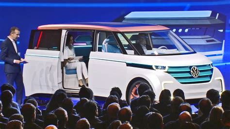 volkswagen budd  concept world premiere  ces  youtube