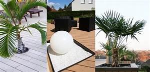 Comment Remplir Une Grande Jardinière : des jardini res incorpor es pour d corer ma terrasse composite ~ Melissatoandfro.com Idées de Décoration