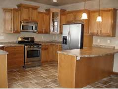 Delectable White Kitchen Cabinets Slate Floor Gallery Flooring With Oak Cabinets Kitchens Cabinets Tile Kitchens Floors