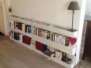 étagère En Palette : d tournement d coration base de palette en bois mes ~ Dallasstarsshop.com Idées de Décoration