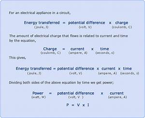 Electrical Power Formula Pdf - seodiving.com