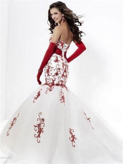 red wedding dresses dressed  girl