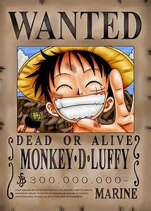 POSTER ONE PIECE RUFY ZORO NAMI WANTED GRANDE LUFFY (Sizes ...