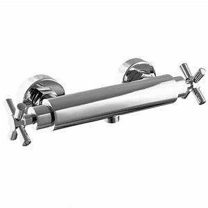 Mischbatterie Dusche Aufputz : paulgurkes duscharmatur aufputz mischbatterie kreuzgriff ~ Watch28wear.com Haus und Dekorationen