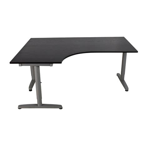 ikea galant corner desk black 68 ikea ikea galant corner desk tables