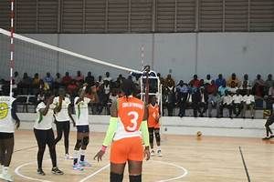 The Black Queens volleyball team defeat hosts in the 2018 ...