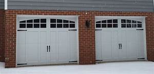 two 9x7 model 5632a carriage style overlay garage doors With 9x7 garage door prices