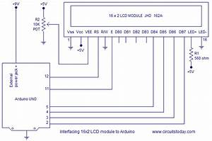 Interfacing Lcd To Arduino