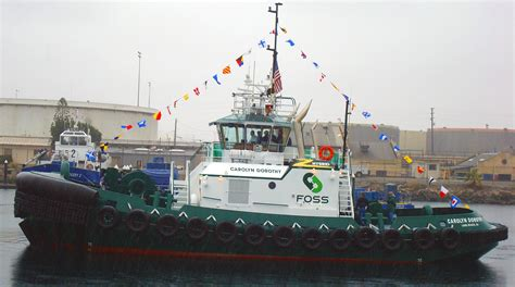 Tugboat Emissions by Ucr Newsroom Hybrid Tugboat Helps Environment