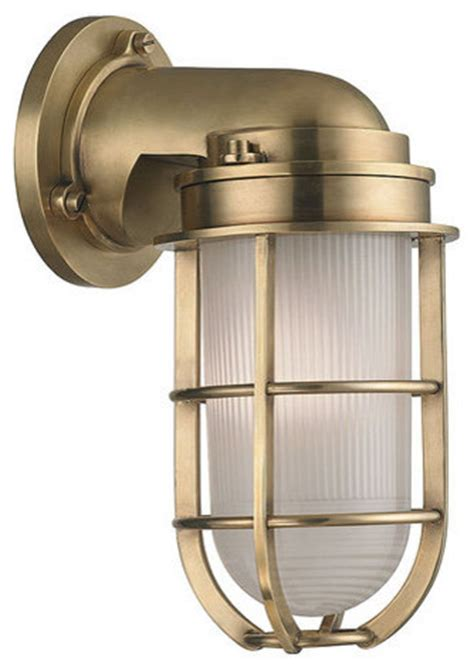 hudson valley lighting 240 carson 1 light nautical outdoor